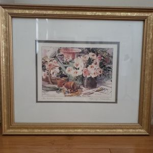 Marilyn Simandle framed signed matted print